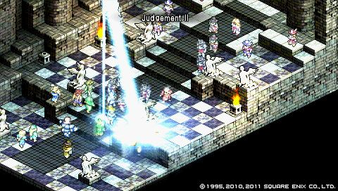 Tactics Ogre: frightened knight, sleeping warlock - Quarter