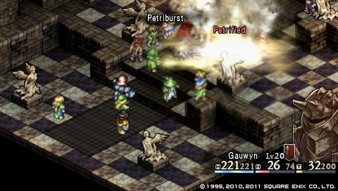 Tactics Ogre: frightened knight, sleeping warlock - Quarter
