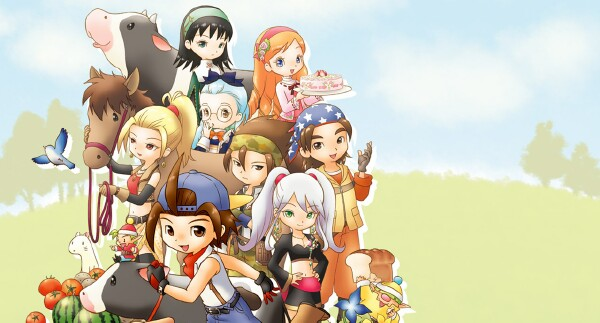 Harvest Moon Hero Of Leaf Valley Images Pictures to pin on Pinterest