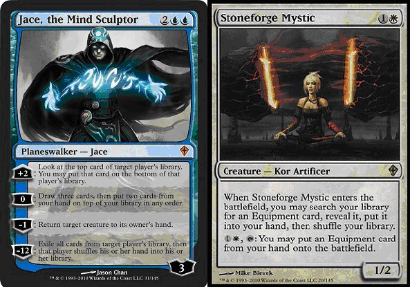 Duels of the Planeswalkers 2012 : a pair of dirty cheaters ... Planeswalker Ally Deck List