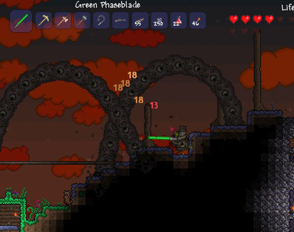 how to find man eaters terraria
