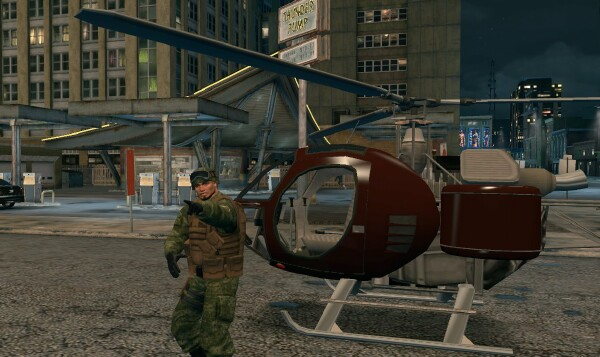 how to drive a helicopter in saints row 3