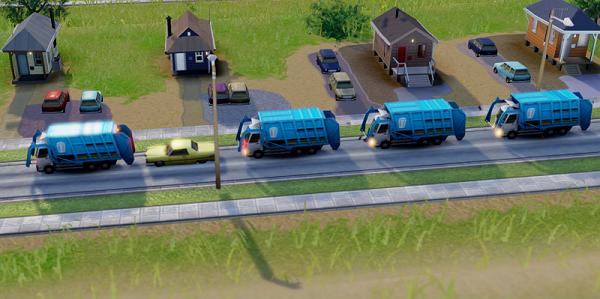 sim-city-garbage-truck-conga-line