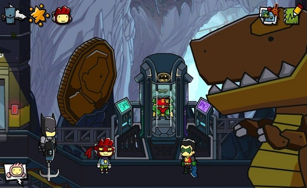 Scribblenauts Unmasked will finally let you put Cthulhu in
