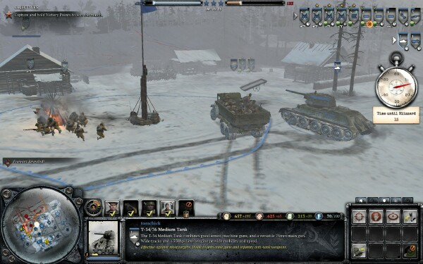 Company Of Heroes 2 Is A Real Snow Job Quarter To Three