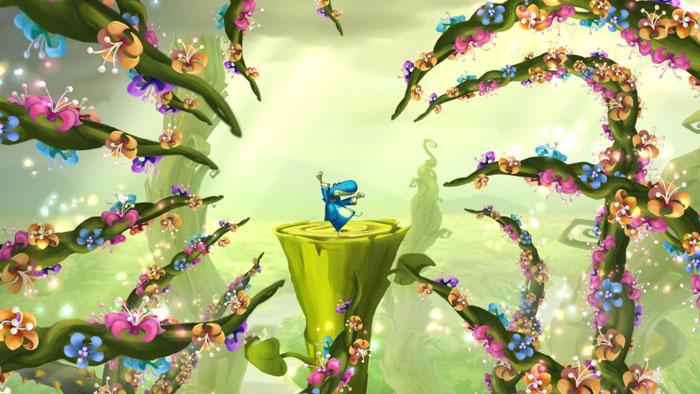 Rayman Legends Karmic Butt Poking In Distant Cosmic