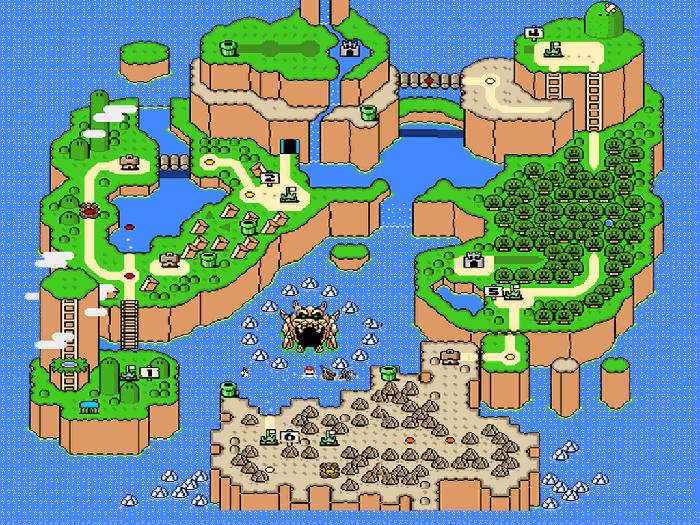 Super Mario 3d World Mapa Super Mario World Rewarded my