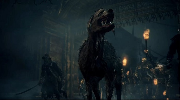 bloodborne might have corpse dogs but entwined has