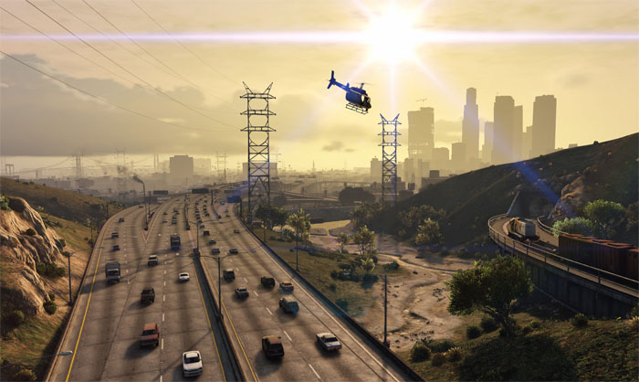 how to take cinematic photos gta v