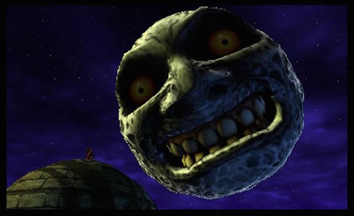 majoras mask 3d moon