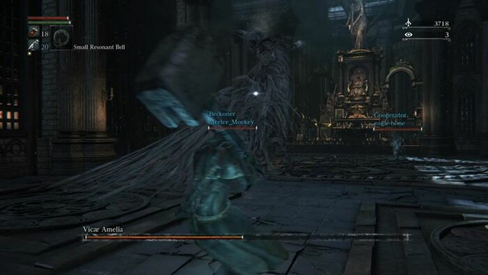 Bloodborne So A Vicar And A Hunter Walk Into A Cathedral