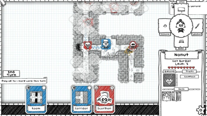 This is the Guild of Dungeoneering  Without a school, it's