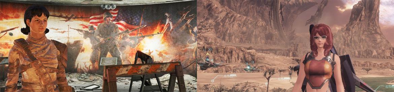 Fallout 4 vs. Xenoblade Chronicles X