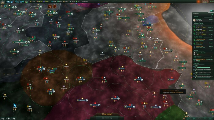 The bone-dry sci-fi of Stellaris, a game that doesn't even