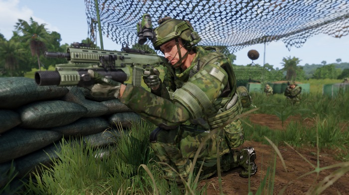 If there was a draft, being selected for Arma 3: Apex ...