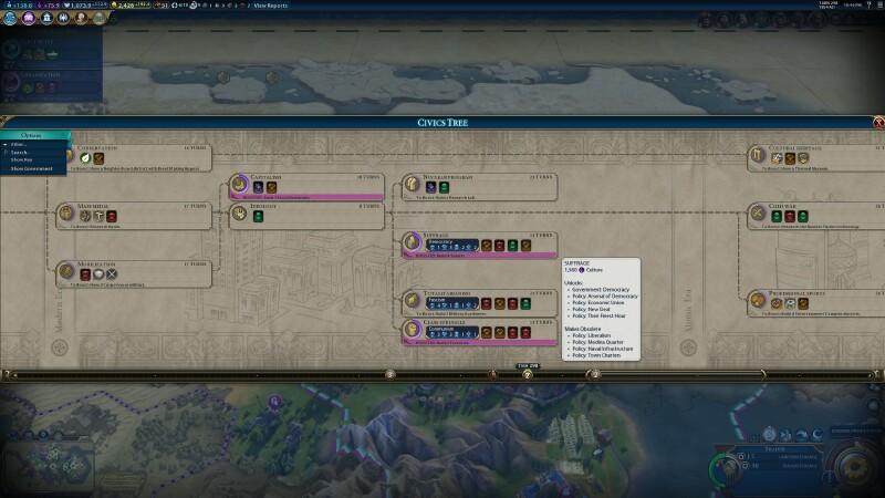 Civilization VI tries to make the best of Civilization V - Quarter