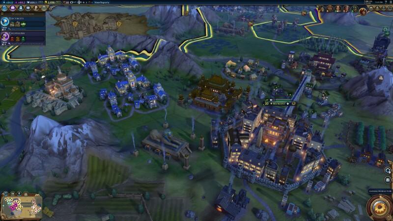 Civilization Vi Tries To Make The Best Of Civilization V Quarter