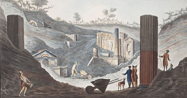 discovery-of-the-temple-of-isis-at-pompeii