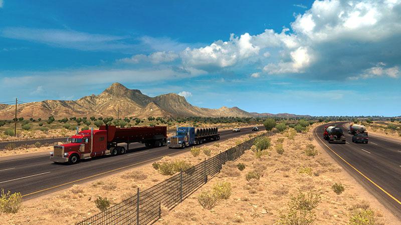 American Truck Simulator more accurately simulates America - Quarter