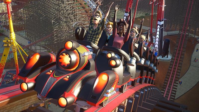 It's Planet Coaster versus RollerCoaster Tycoon in more ways