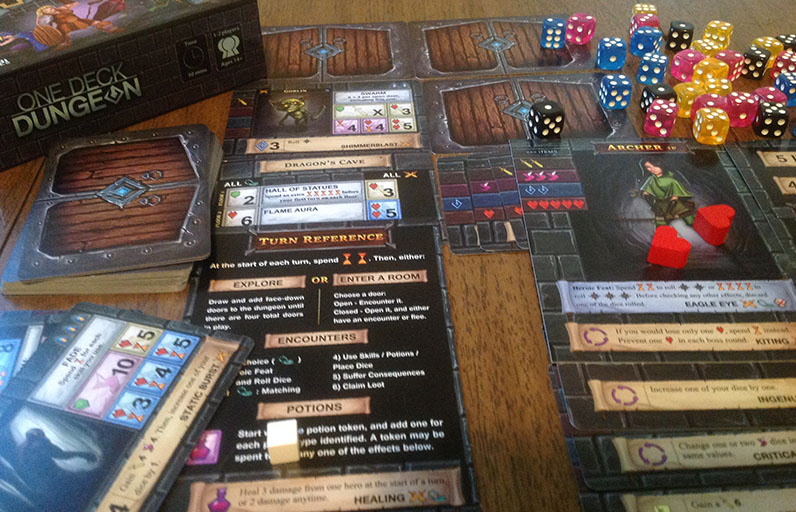 For Such A Little Game One Deck Dungeon Is A Real Handful Quarter