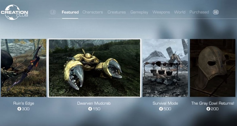 Bethesda finally let the other shoe drop on paid mods at E3