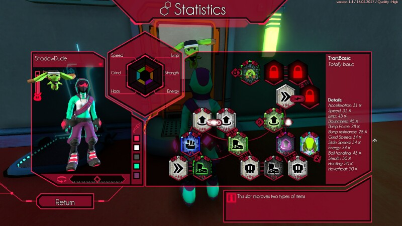 Hover is as Jet Set Radio as you can get without the Cibo