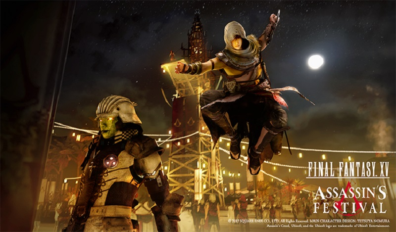 Fist Bumps For Final Fantasy And Assassin S Creed Working Together