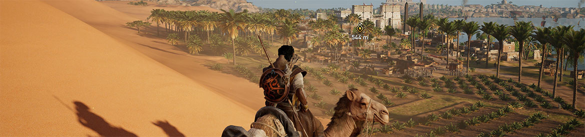 A gorgeous mirage of Assassin's Creed gameplay