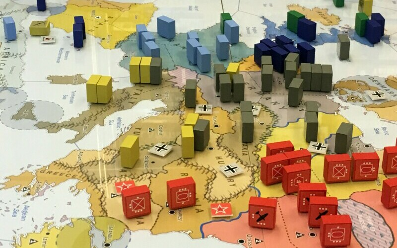 In WWII boardgame Triumph & Tragedy, WWII doesn't even have to