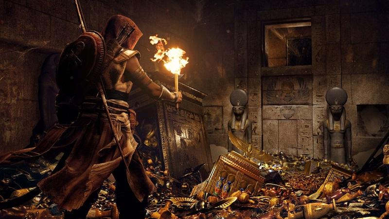 Assassin's Creed: Origins' secret pyramid chamber is real - Quarter