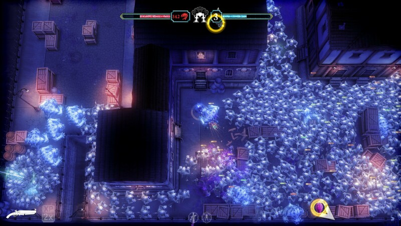 Twin-stick shooter developer 10tons' Tesla vs Lovecraft sets the