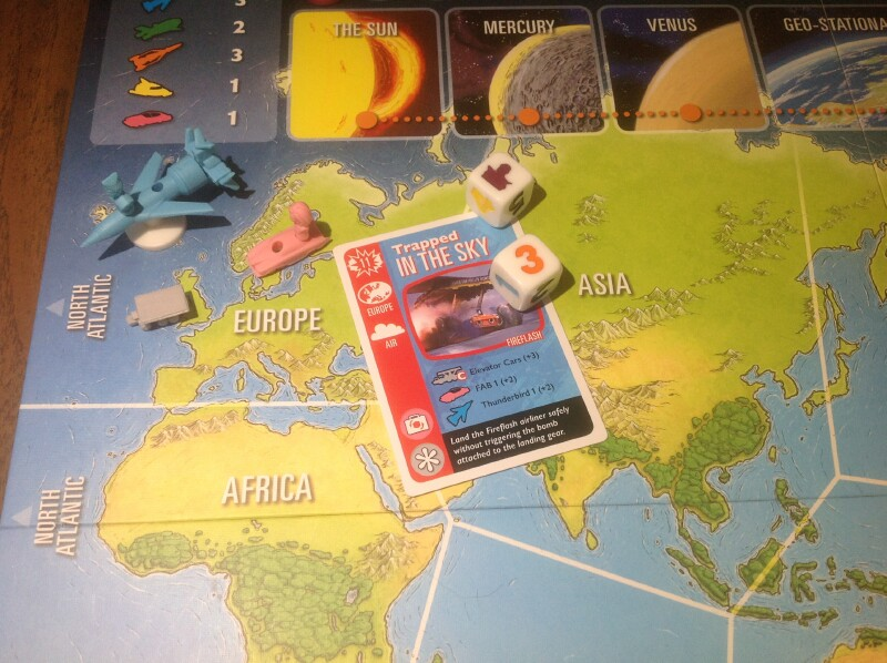 The Thunderbirds boardgame to the rescue in a post-Pandemic world