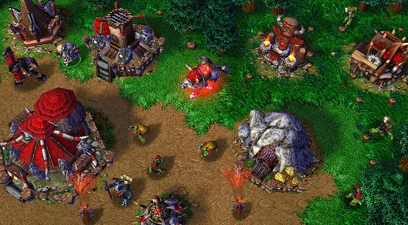 Warcraft 3 Is Looking Fine On Modern Widescreens Quarter To Three