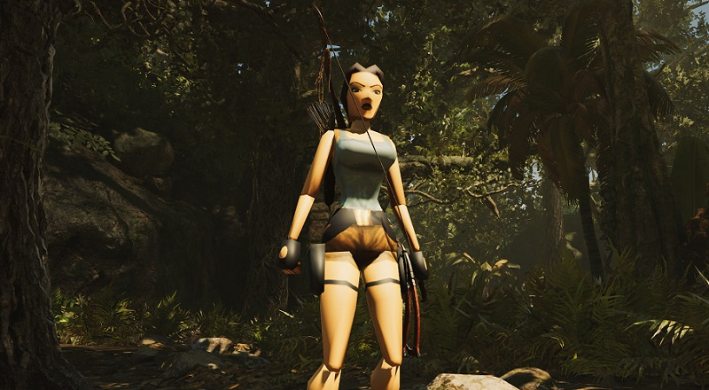 Low Poly Lara Is Ready To Explore In Shadow Of The Tomb Raider