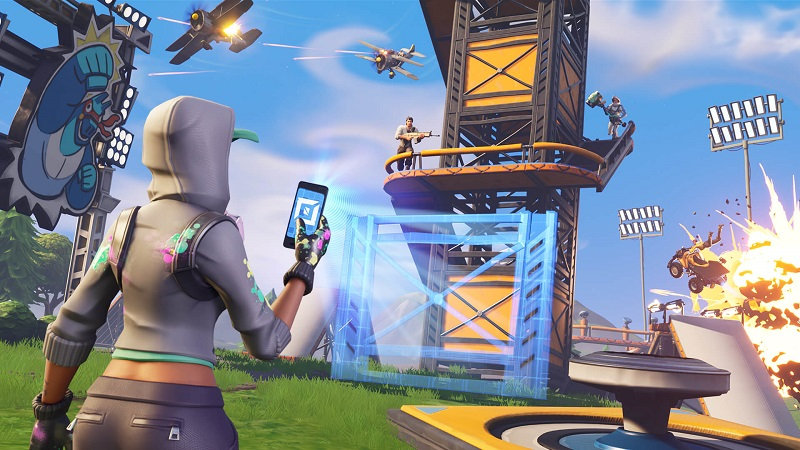You won't have to pay taxes on Fortnite V-Bucks just yet