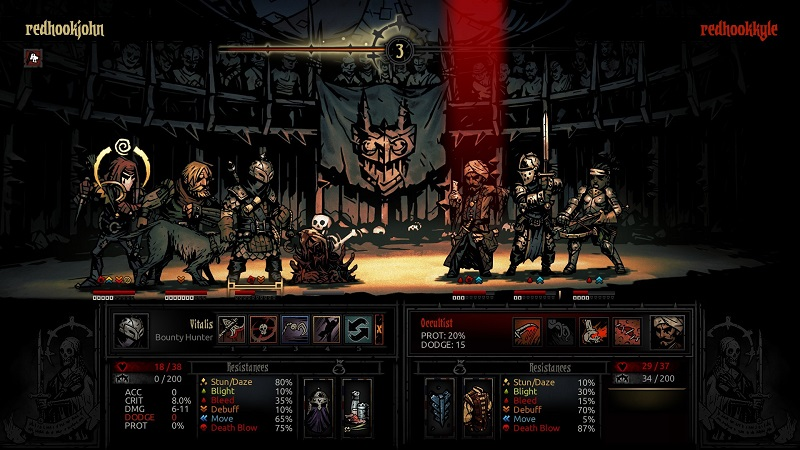 How dark can Darkest Dungeon get with other people?