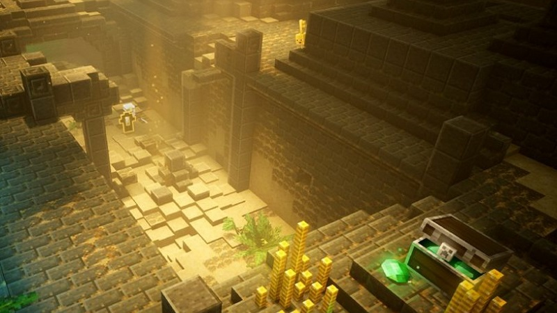 There's a secret cow level in Minecraft Dungeons