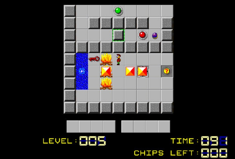 The blast of nostalgia in Chip's Challenge is free
