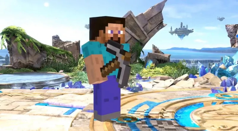 Minecraft's Steve is coming to Smash Bros. Ultimate
