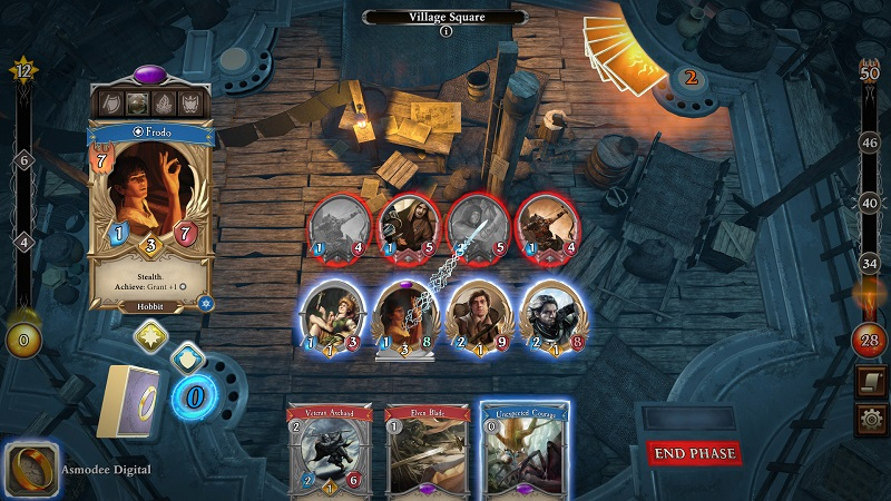 The Lord of the Rings: Adventure Card Game goes offline in a good way