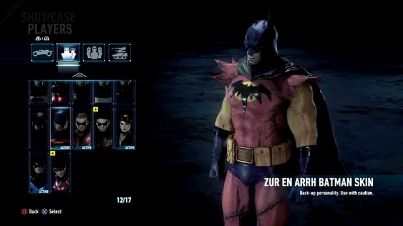 Batman gets new duds in Arkham Knight