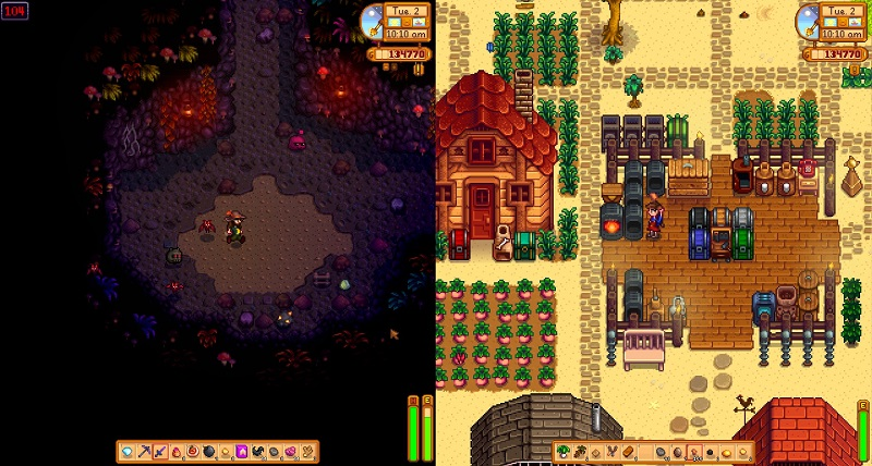 Take a beach holiday in Stardew Valley