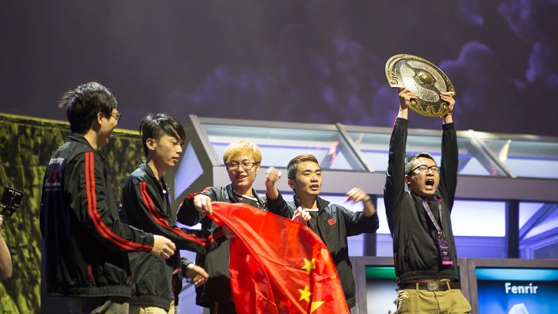 This Dota 2 champion club will no longer be allowed to play
