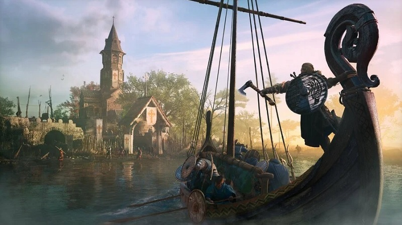 River raids in Assassin's Creed Valhalla would be better with dad jokes